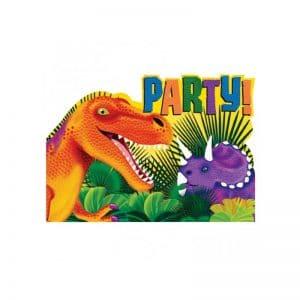 Invitations Dinosaures
