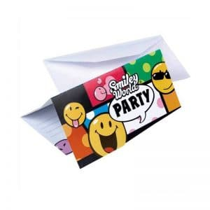 Invitations smiley