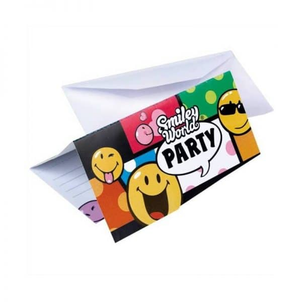 Invitations smiley