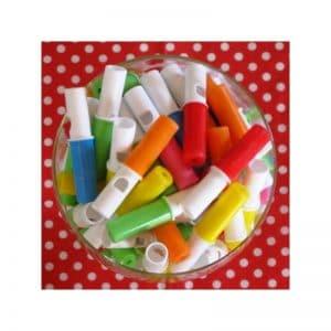 Sifflets bonbons par 10