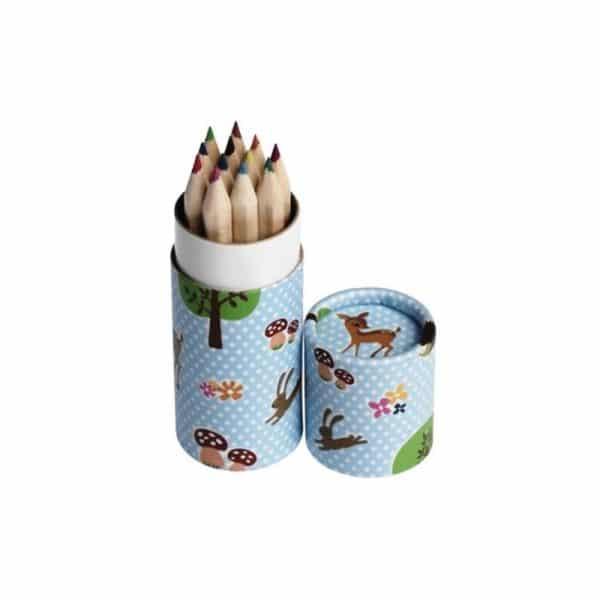 Crayons Woodland