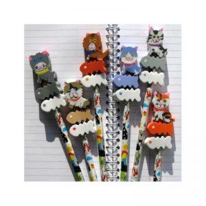 Crayon figurine chat
