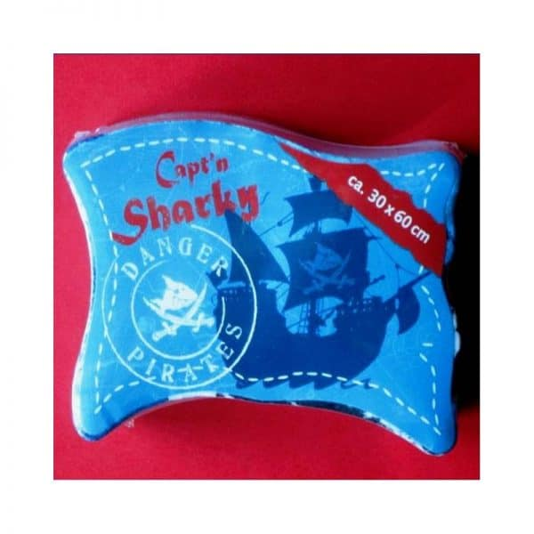Serviette de toilette magique Sharky