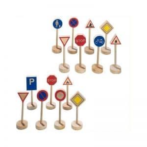Set panneaux de signalisation