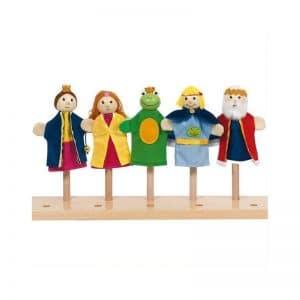 Marionettes roi des grenouilles