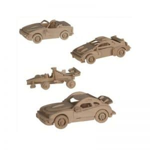 Puzzle en bois voiture