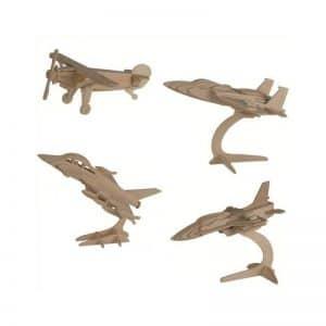Puzzle en bois avions
