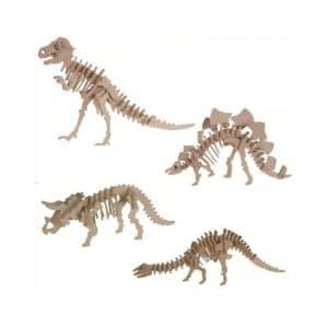Puzzle en bois dinosaures