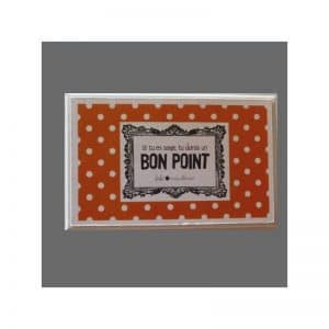 Bons points orange