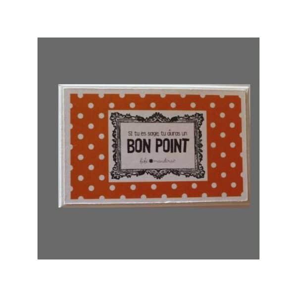 Bons points orange