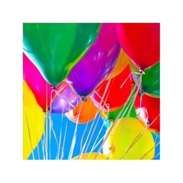 Ballons multicolores sachet de 30