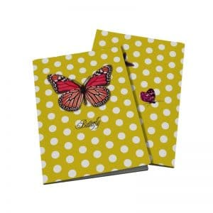 Cahier Butterfly