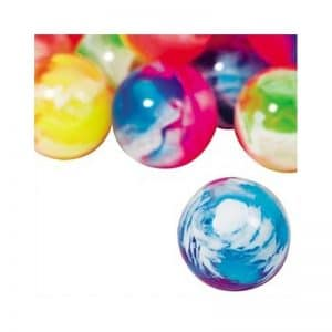 Balles rebondissantes marbrées