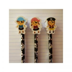 Crayon gomme pirate