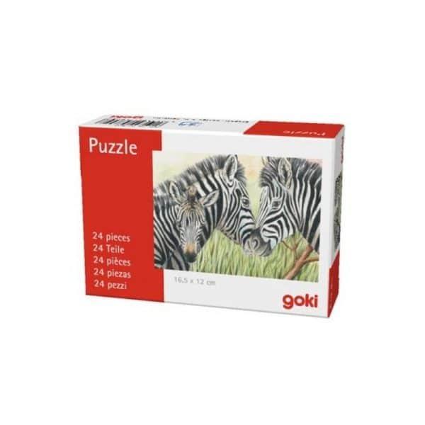 Mini puzzle animaux sauvages