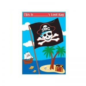 Sacs anniversaire pirates