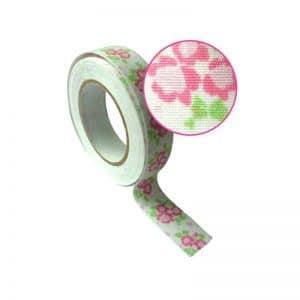 Fabric tape fleuri