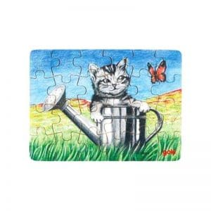Mini puzzles animaux calins
