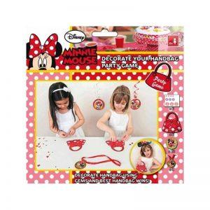Jeu sac Minnie à décorer