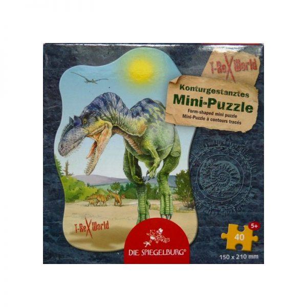 Mini puzzle dinosaure