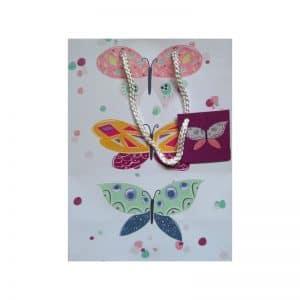 Sac cadeau papillons
