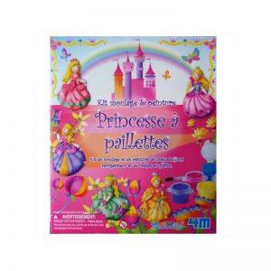 Moulage princesses paillettes