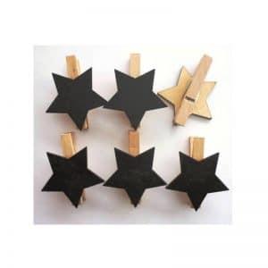 Pinces ardoises étoiles