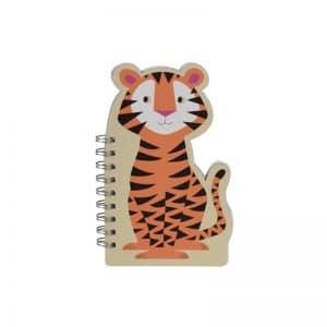 Cahier forme tigre