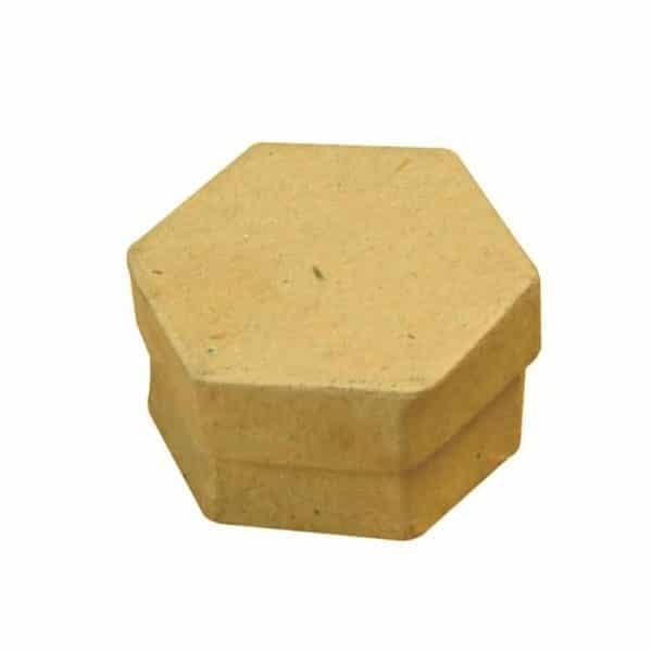 Mini boîte hexagonale