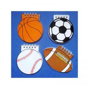 Calepin ballon sport