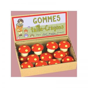 Gomme taille crayons
