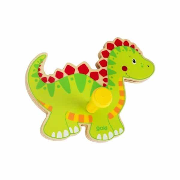 Porte manteau dinosaure