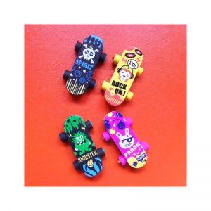 Gommes skateboard