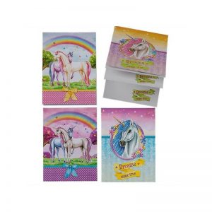 Bloc notes licorne