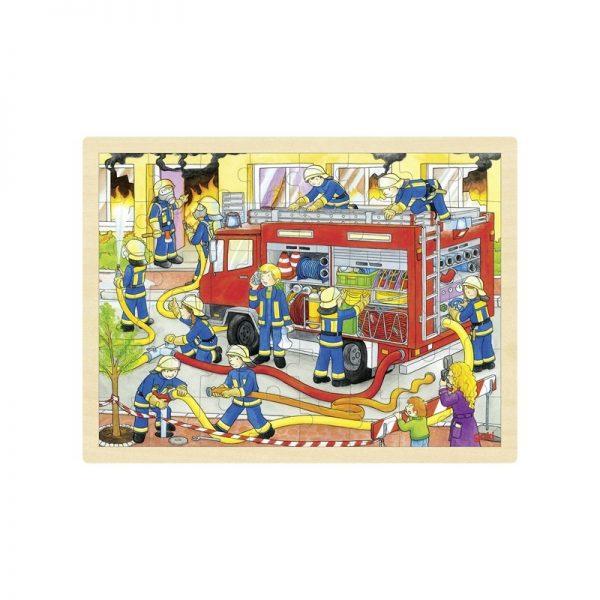 Puzzle pompiers