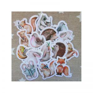 Stickers amis de la forêt