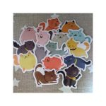 Stickers chats rigolos