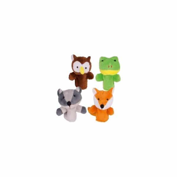 Marionnettes forêt lot de 4