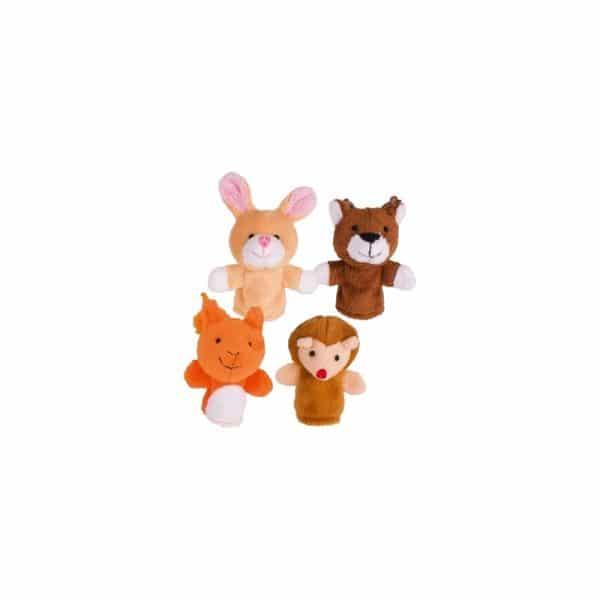 Marionnettes lot de 4 série calin