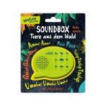 Boîte sonore animaux de la forêt