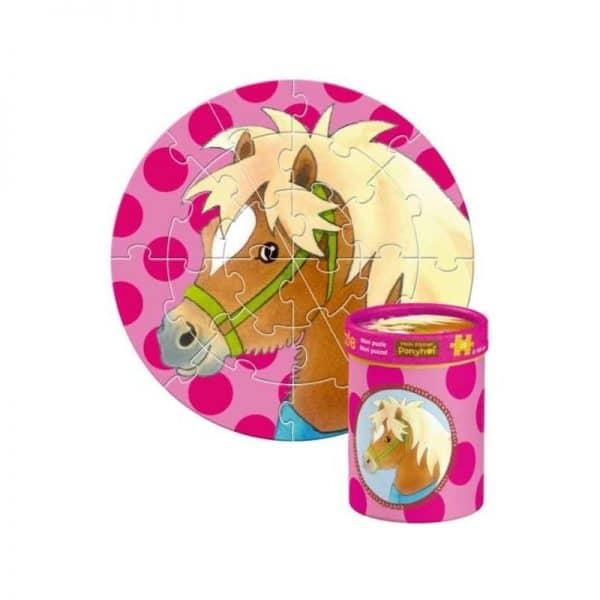 Mini puzzle poney