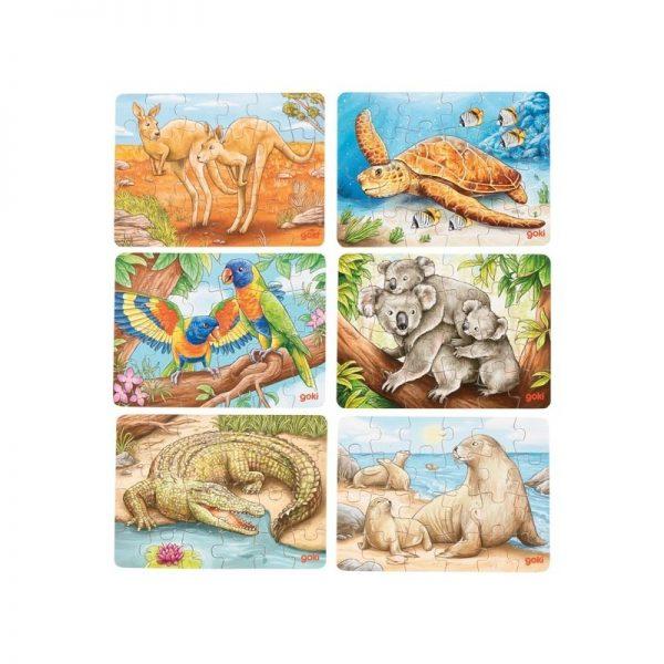 Mini-puzzles Australie