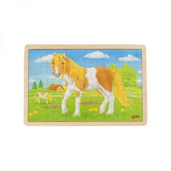 Puzzle le pré des chevaux