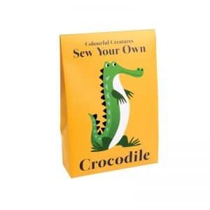 Kit crocodile à coudre