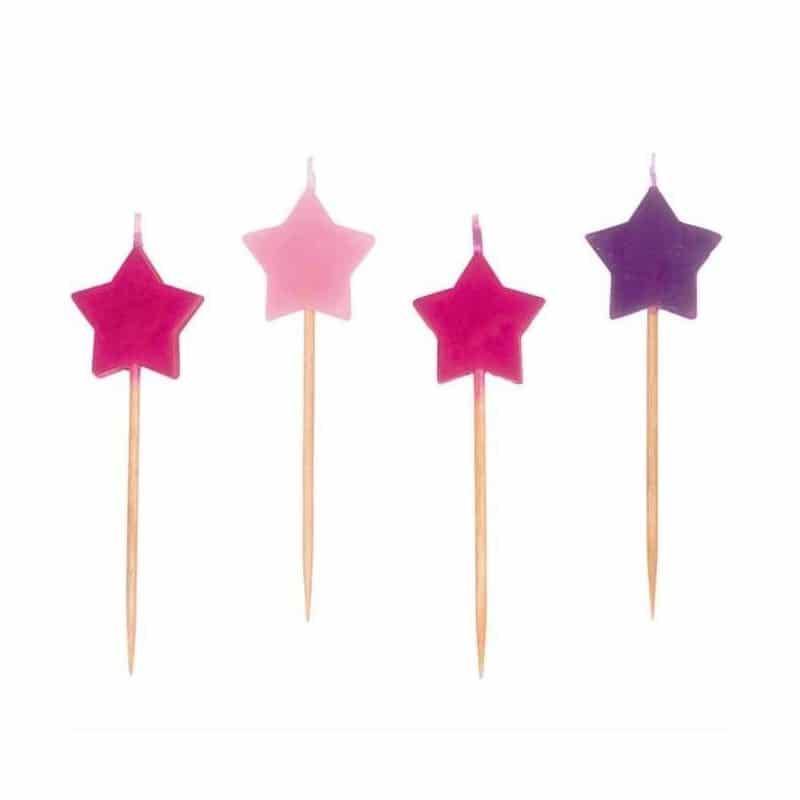bougies étoiles anniversaire